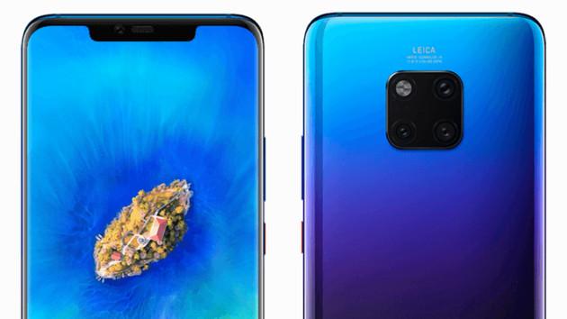 Huawei: Mate 20 Pro kommt mit 4.200-mAh-Akku und 128 GB