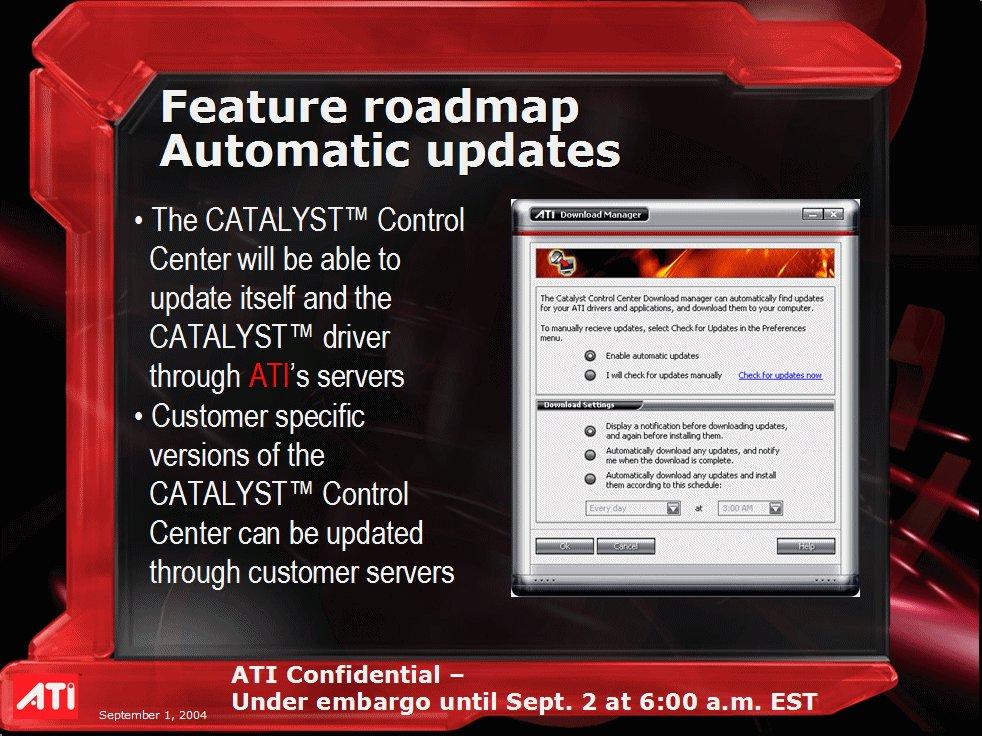 ATi CATALYST Control Center