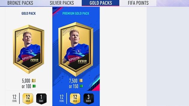 """FIFA Ultimate Team: Chancen auf Event-Spieler """"weniger als 1 Prozent"""""""