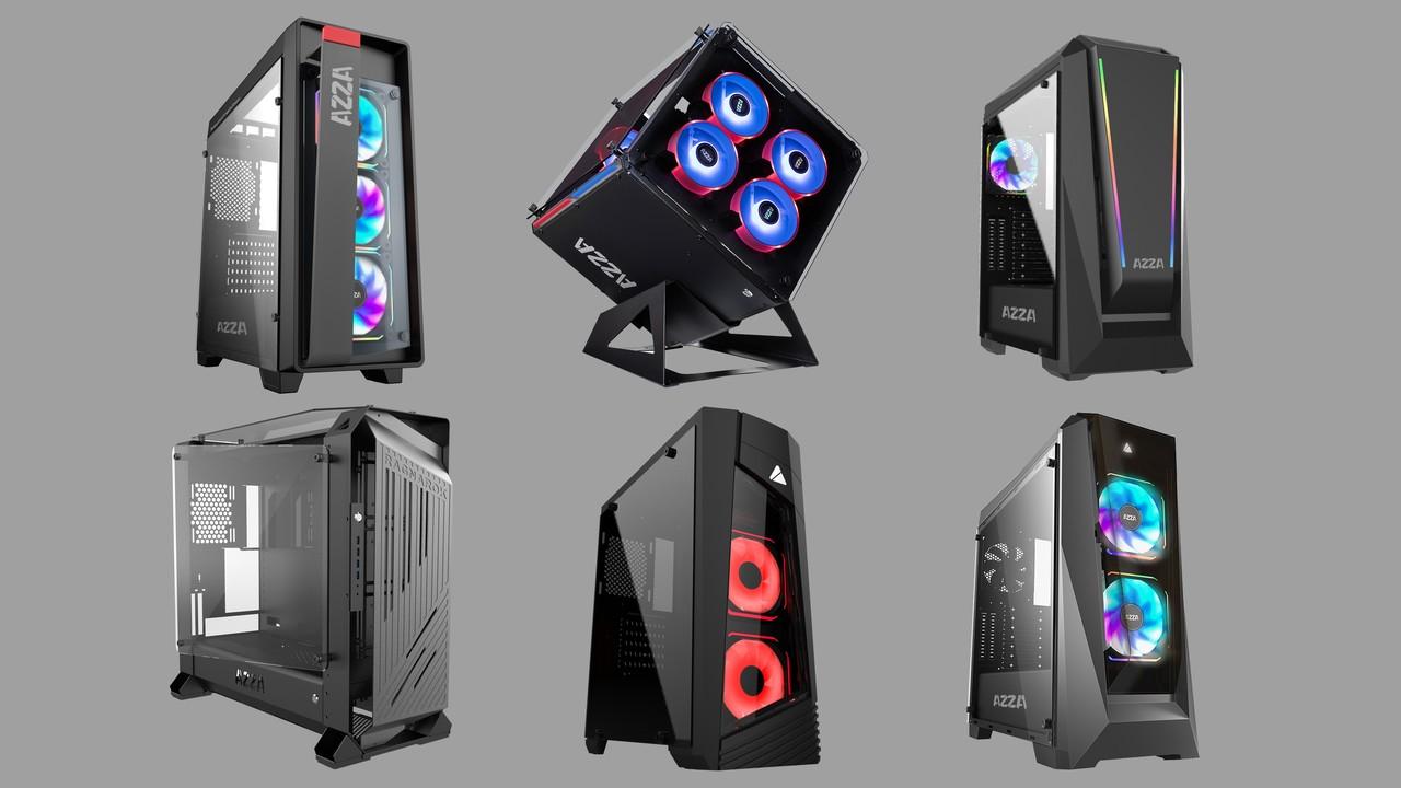 Ragnarok, Cube & Co: Design- und Standard-Gehäuse von Linkworld