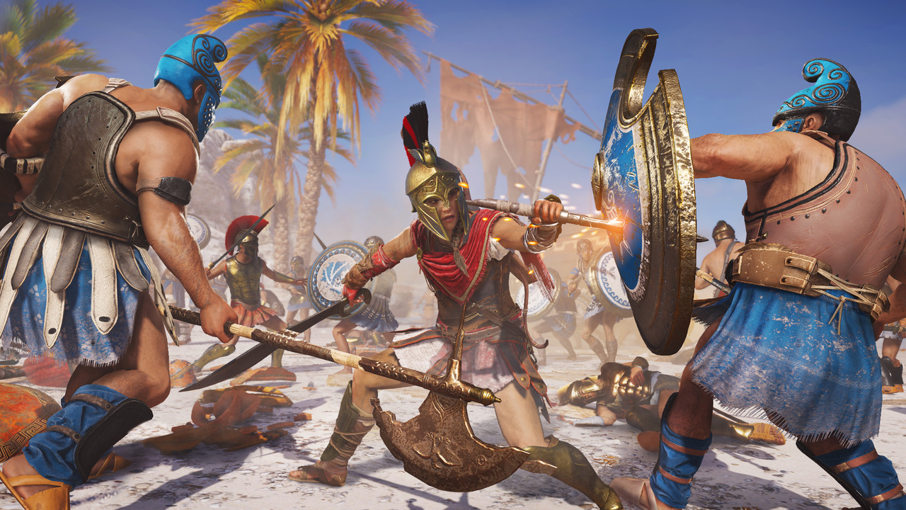 Project Stream: Assassin's Creed Odyssey in Google Chrome spielen