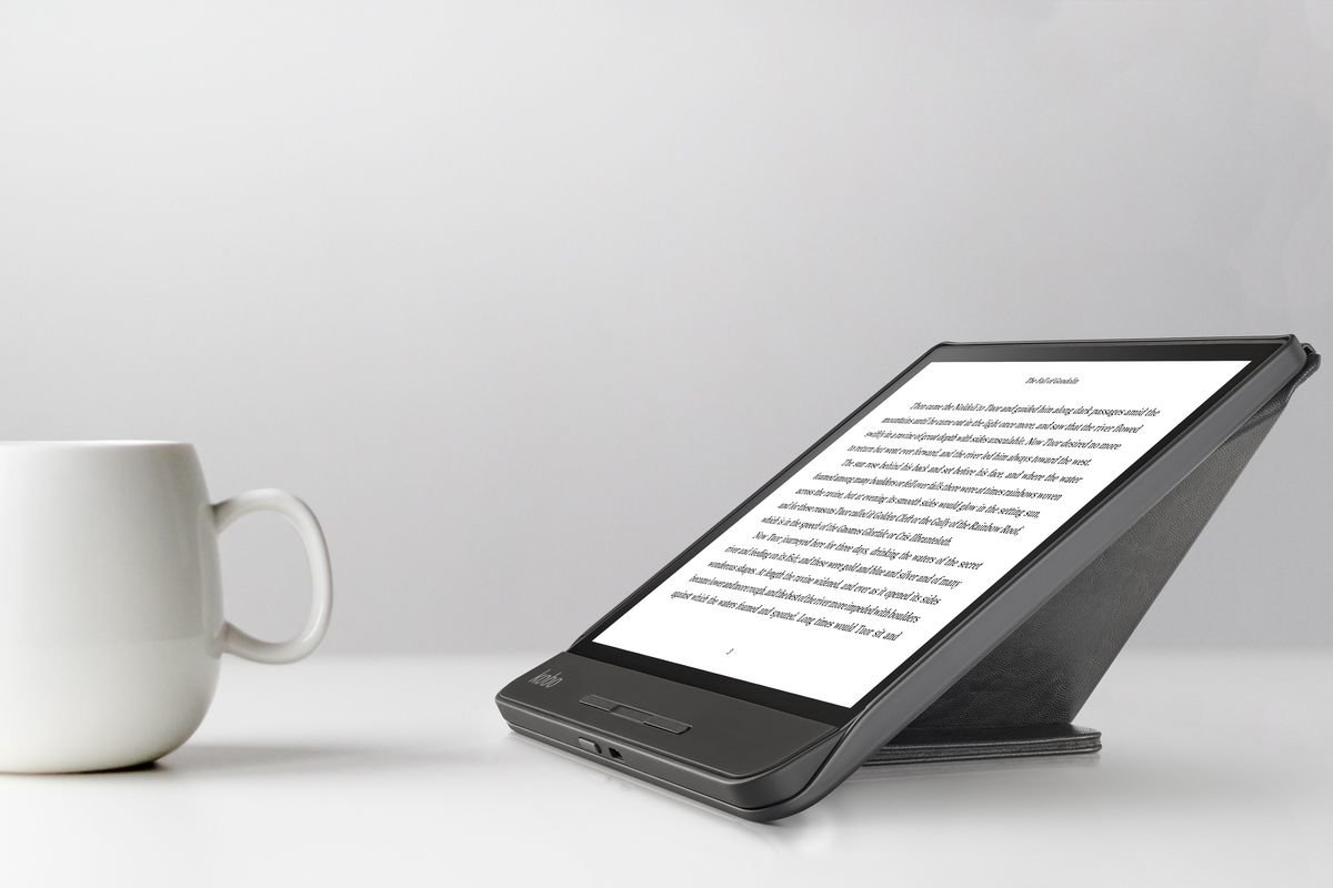 Kobo Forma mit Stand