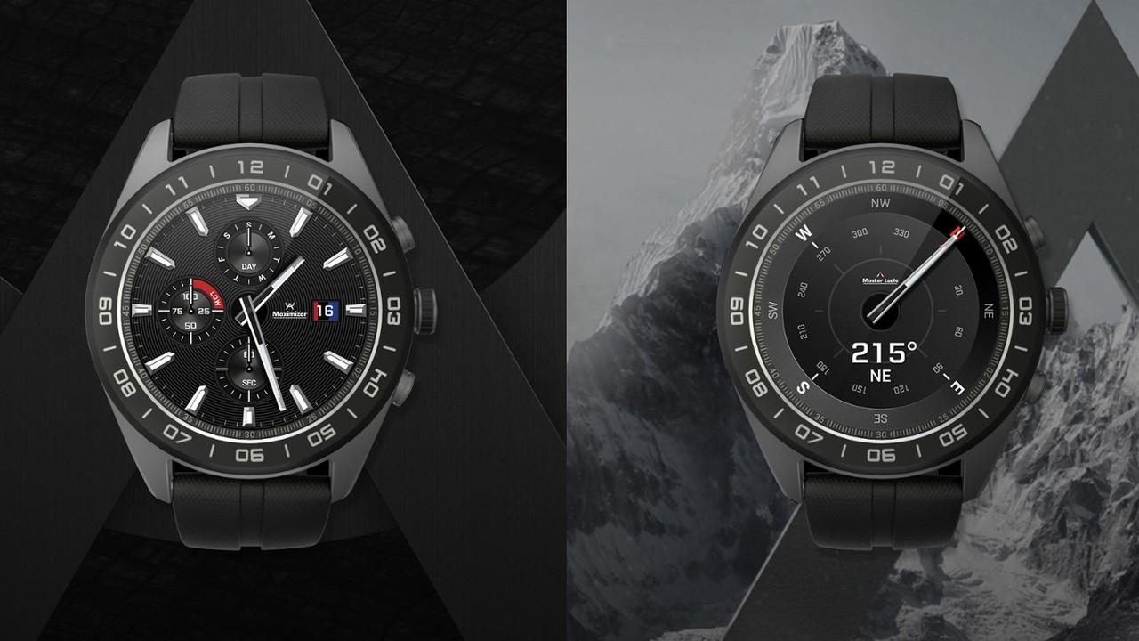 LG Watch W7: Hybride Smartwatch verbindet Display mit Zeigern