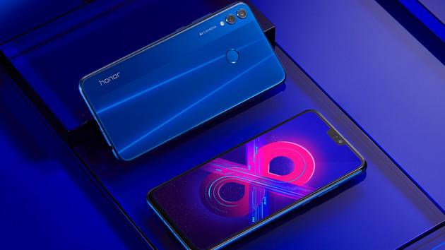 Honor 8X: Mittelklasse-Smartphone im Großformat ab 249 Euro