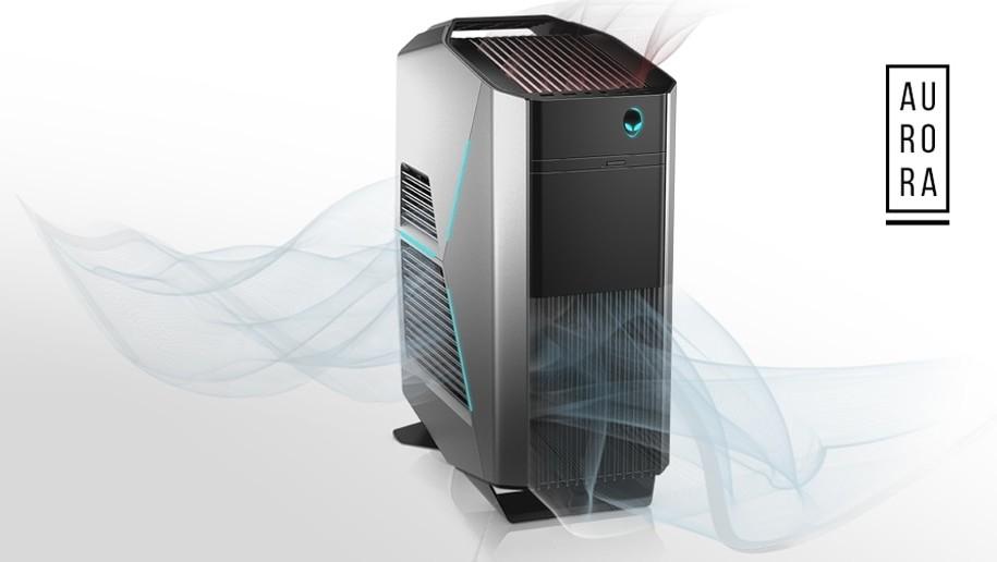 Alienware Aurora R8: Midi-Desktop erhält Coffee Lake Refresh und GeForce RTX