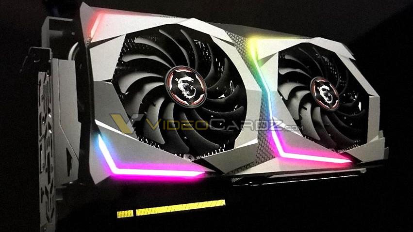 Nvidia Turing: MSI GeForce RTX 2070 Gaming zeigt sich mit zwei Lüftern