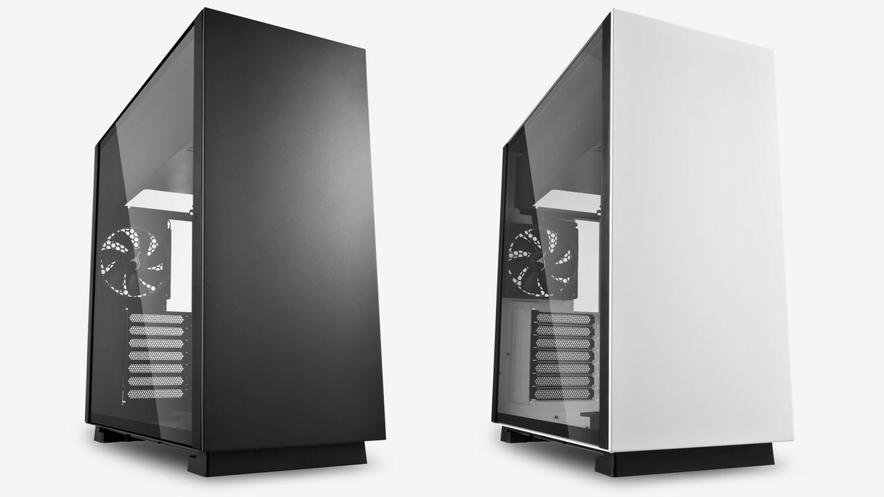 Sharkoon Pure Steel: Midi-Tower minimalistisch aus Stahl gebaut