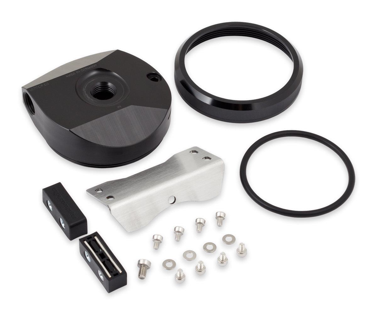 Aqua Computer D5 Ultitop: Kompakter Pumpendeckel für D5-Wasserpumpen