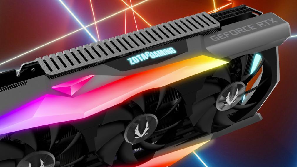 GeForce RTX 2080: Nvidia Turing von Zotac als AMP! Extreme mit GDDR6-OC