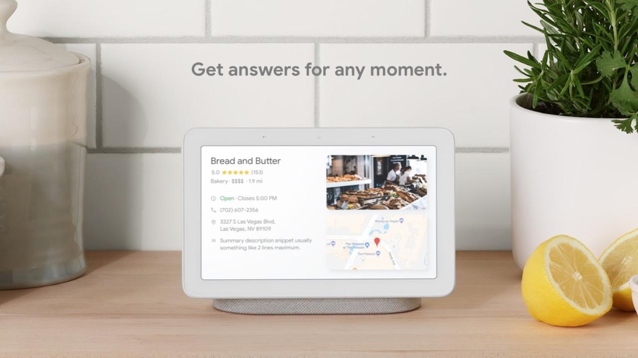 Echo-Show-Konkurrent: Google Home Hub kommt 2019 nach Deutschland