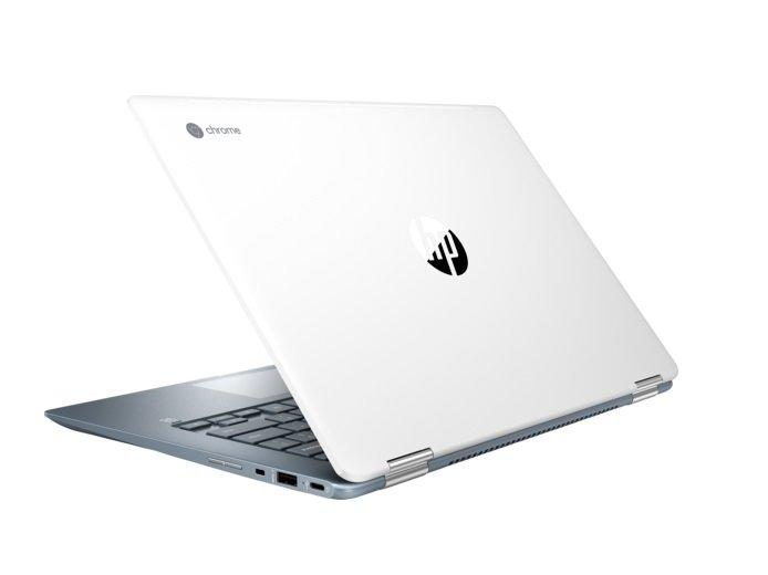 Das HP Chromebook x360 14 mit Intel Core i3