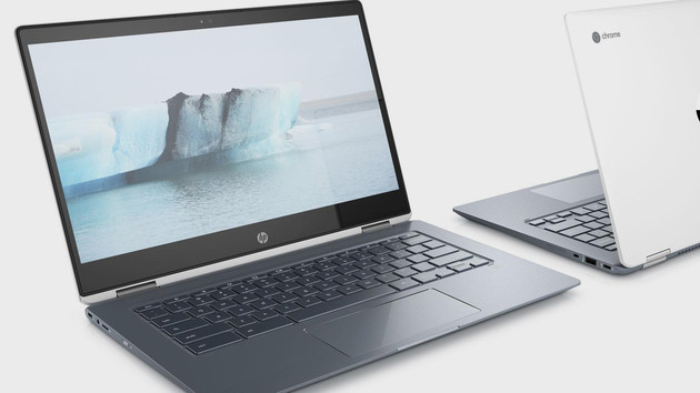 Chromebook x360 14: HPs neues Chrome-OS-Notebook nutzt Core-CPUs