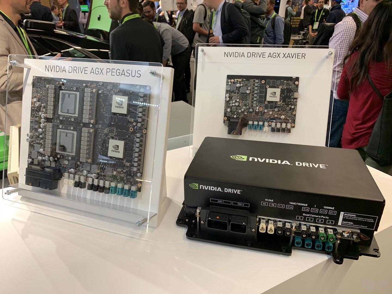 Box für das Fahrzeug mit Nvidia Drive AGX Pegasus