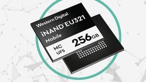 iNAND MC EU321 EFD: Erster 96-Layer-UFS-NAND von Western Digital