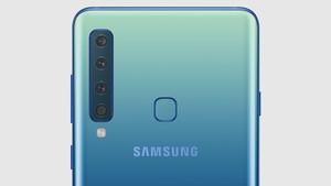 Samsung Galaxy A9 (2018): Vier Kameras für Weitwinkel, Zoom und Bokeh