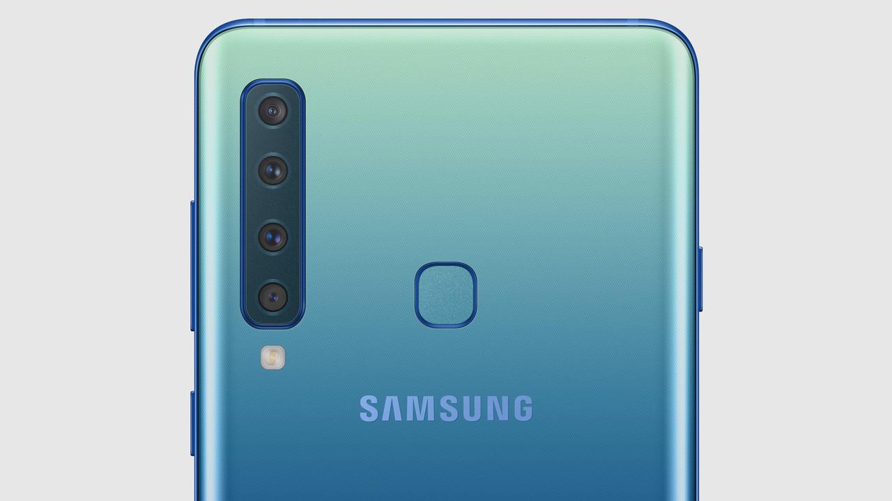 samsung galaxy a9 2018 vier kameras f r weitwinkel. Black Bedroom Furniture Sets. Home Design Ideas