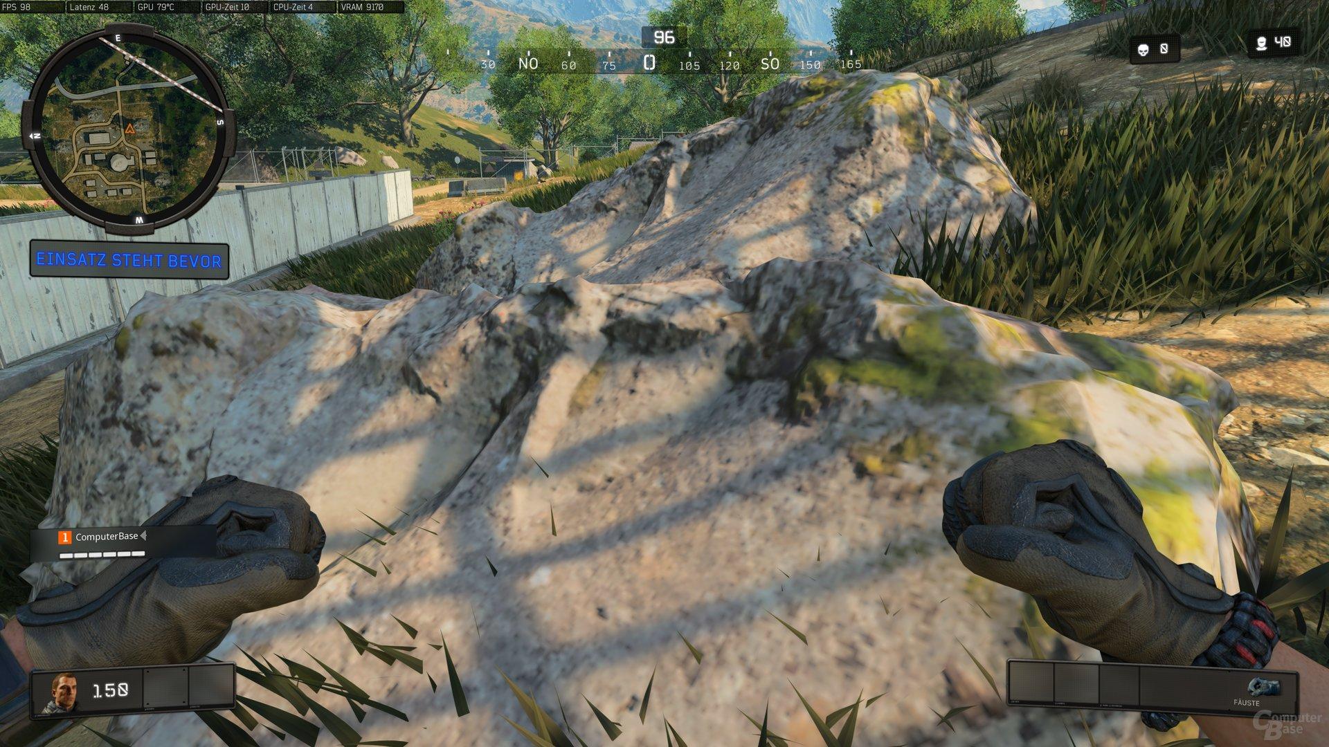 COD: Black Ops 4 – mit teils schlechten Texturen