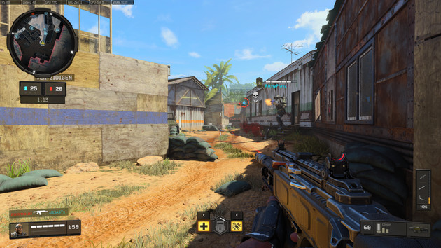 Call of Duty: Black Ops 4 im Test: GPU-Benchmarks im Battle-Royale-Modus Blackout