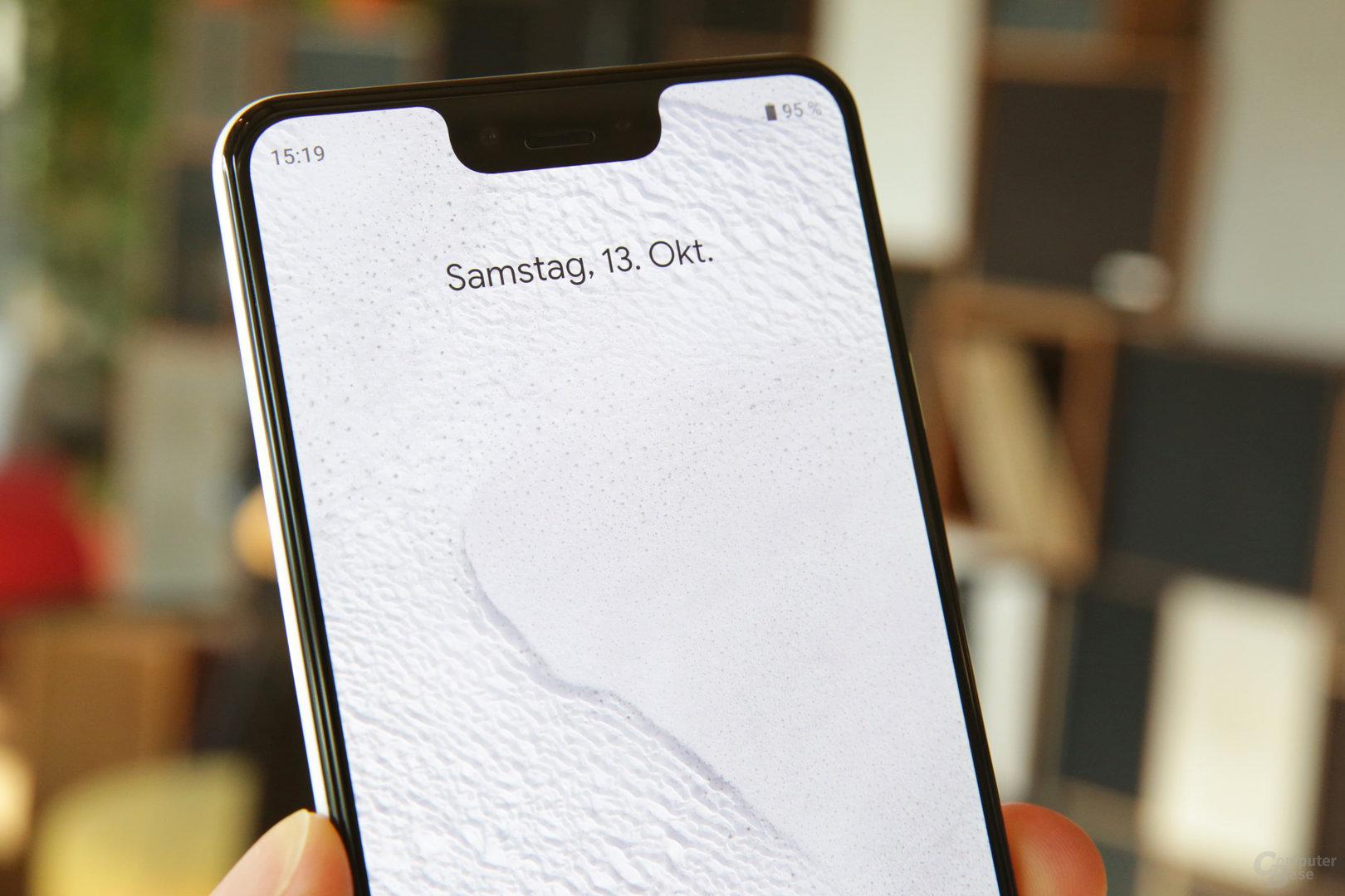 Die Notch des Pixel 3 XL könnte zwei Statusleisten aufnehmen