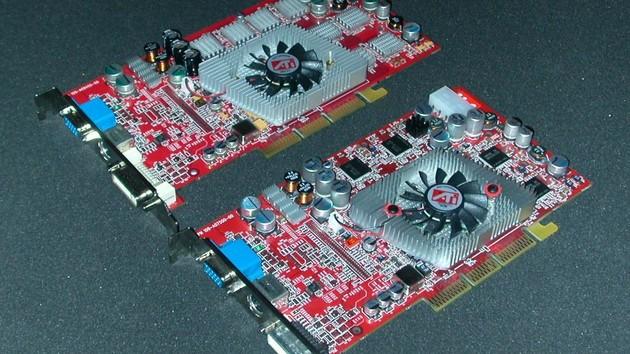 Im Test vor 15 Jahren: Sechs Radeon 9800 Pro im Vergleich