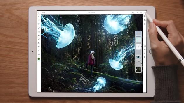 Adobe: Photoshop CC kommt 2019 auf das iPad