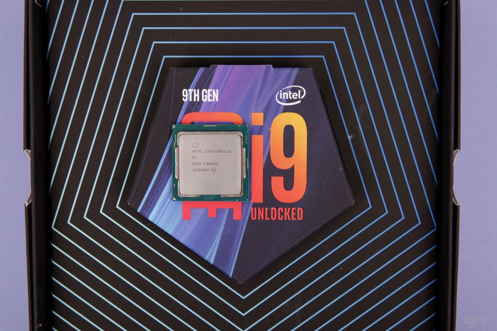 Intel Core i9-9900K und i7-9700K im Test