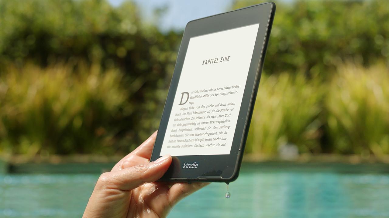 E-Book-Reader: Kindle Paperwhite wird plan und wasserdicht