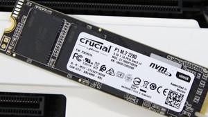 Crucial P1: Microns erste NVMe‑SSD für Verbraucher nutzt QLC