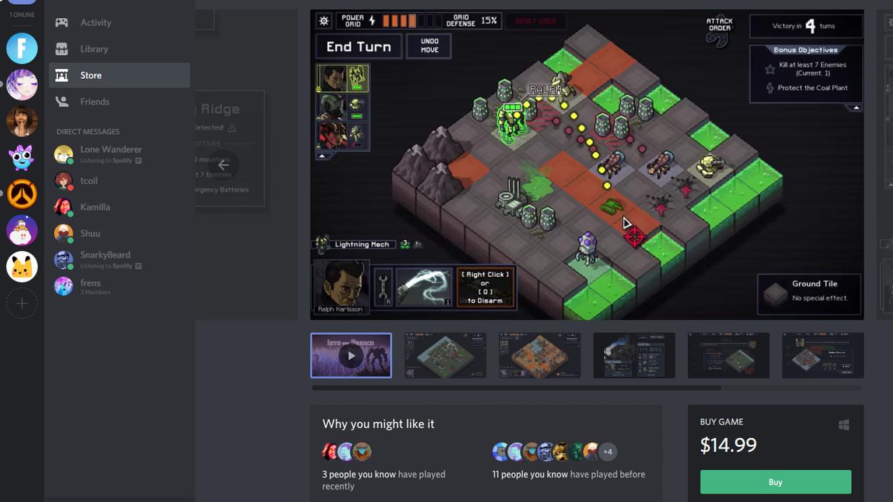 Discord: Beta des integrierten Spiele-Shops weltweit gestartet