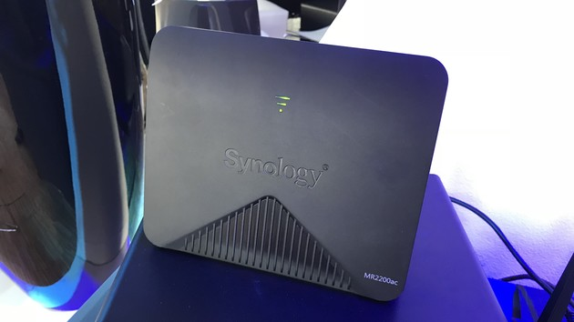Synology MR2200ac: Mesh-Router mit WPA3 und Qualcomm-Technologie