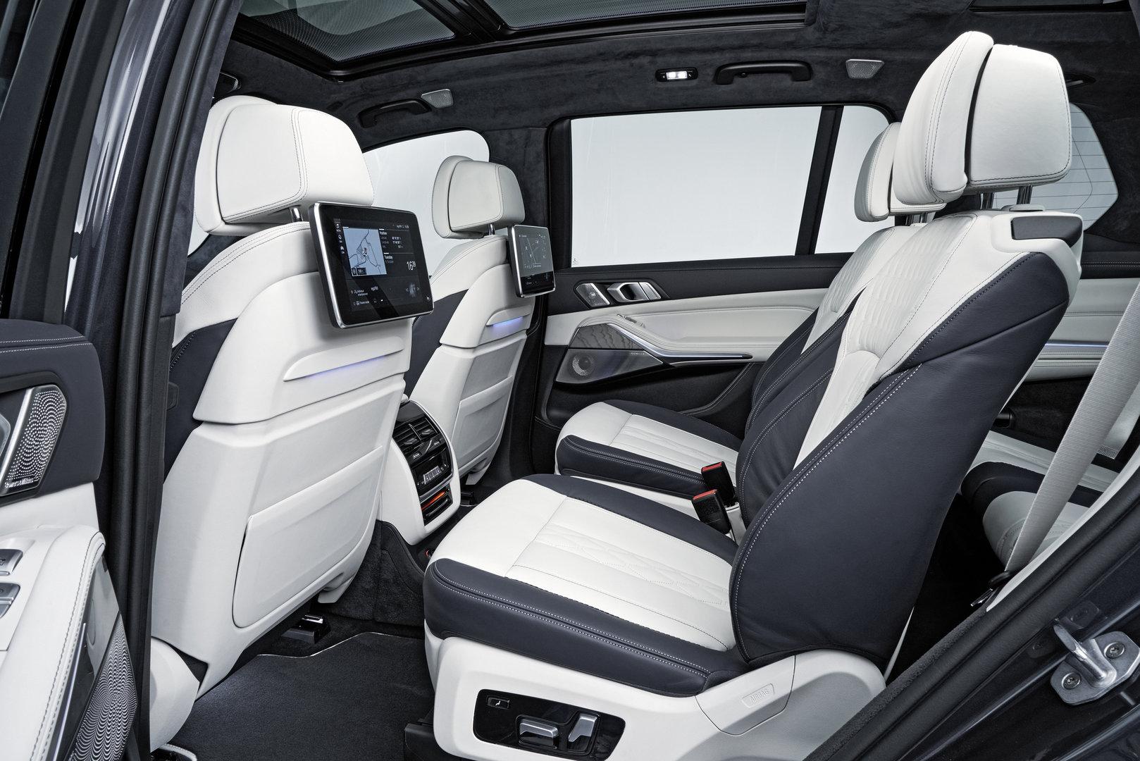 BMW X7 – Rear Seat Entertainment