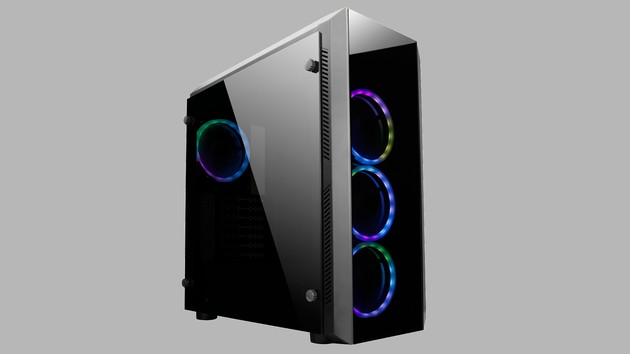 Chieftec Scorpion II: Display und Lüftersteuerung weichen RGB-LEDs