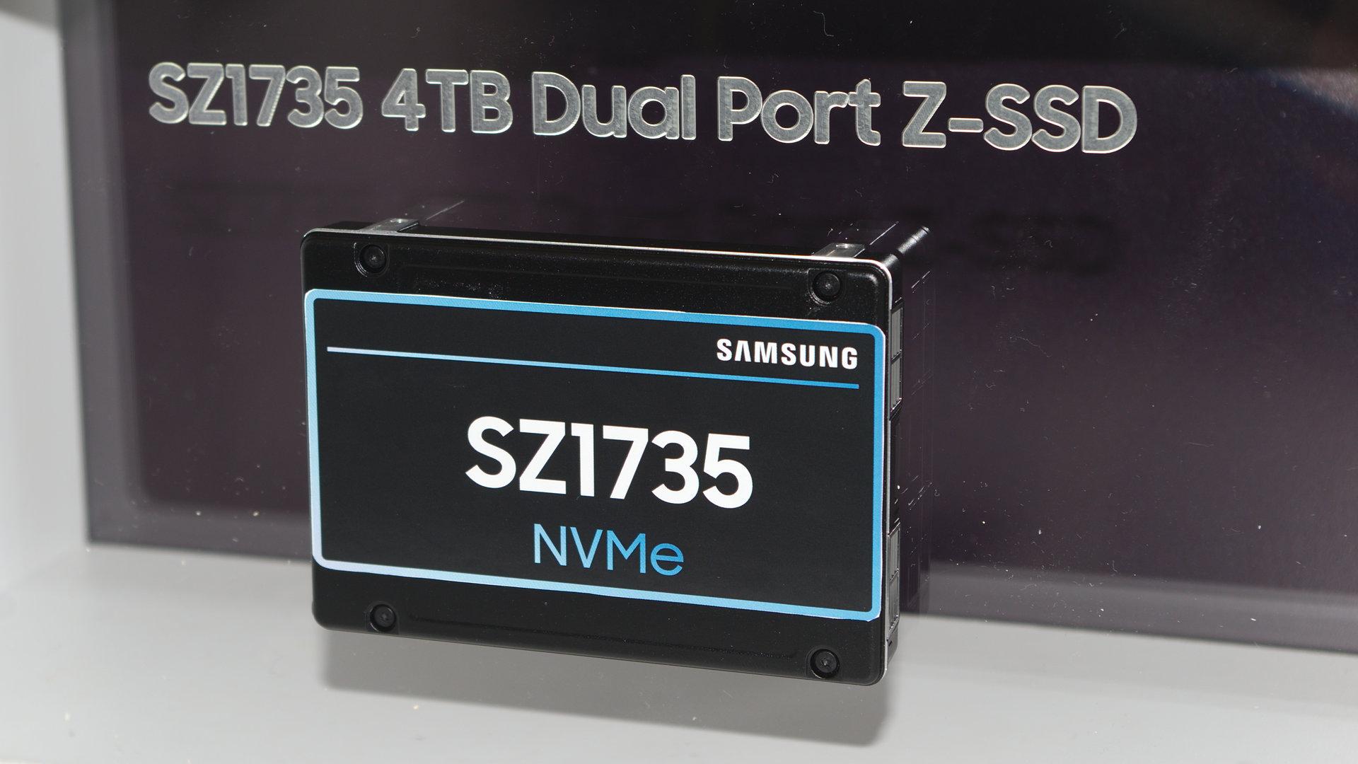 Samsung SZ1735 mit Z-NAND (Gen 2) und PCIe 4.0