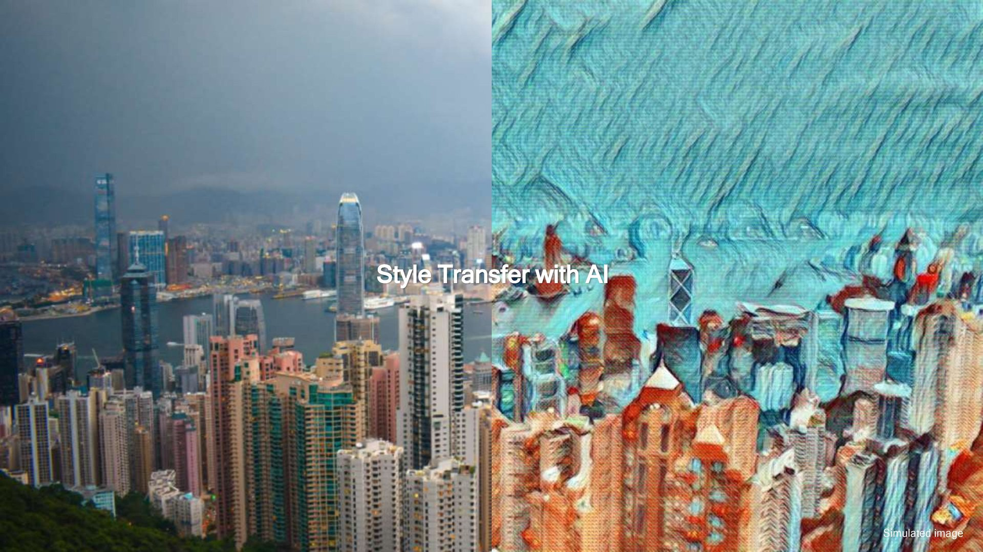 Style Transfer with AI