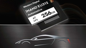 Western Digital: Embedded Flash Drive mit 256 GB 3D-NAND fürs Auto