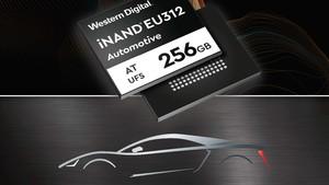Western Digital: Embedded Flash Drive mit 256 GB 3D-NAND fürs Auto