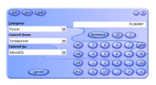 Calculator Plus mit gewöhnungsbedürftigem Skin