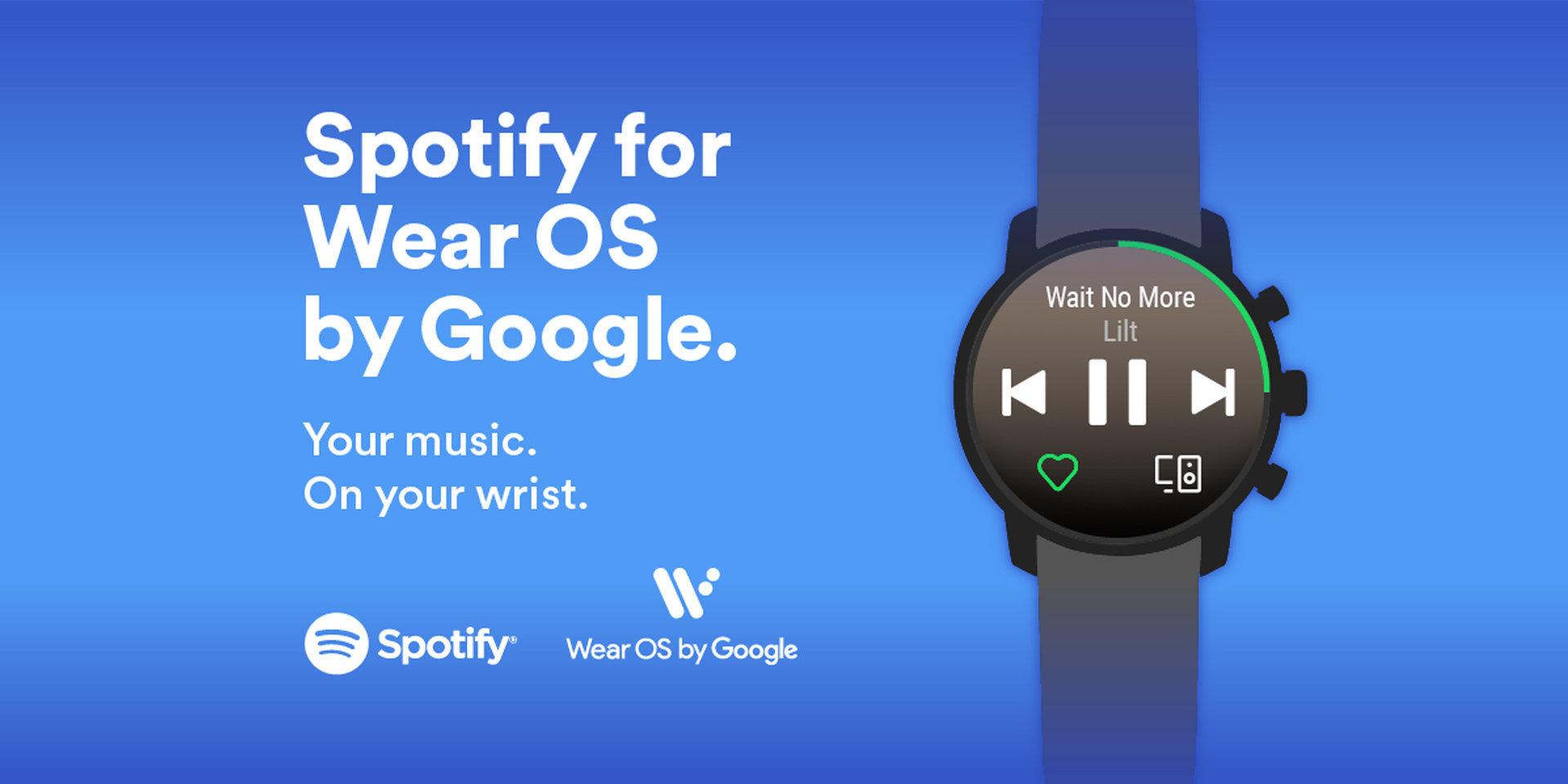 Spotify für Wear OS von Google