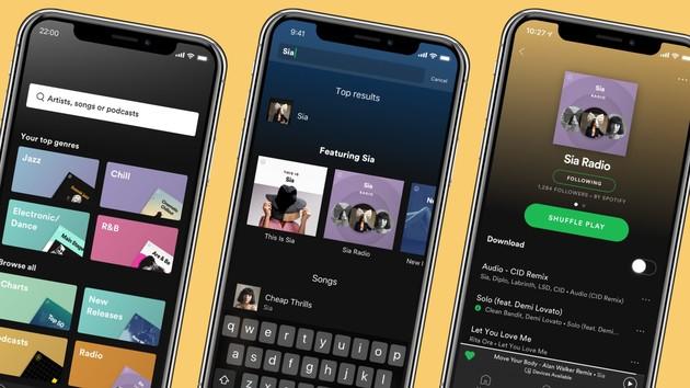 Spotify: Neue personalisierte Premium- und Wear-OS-App