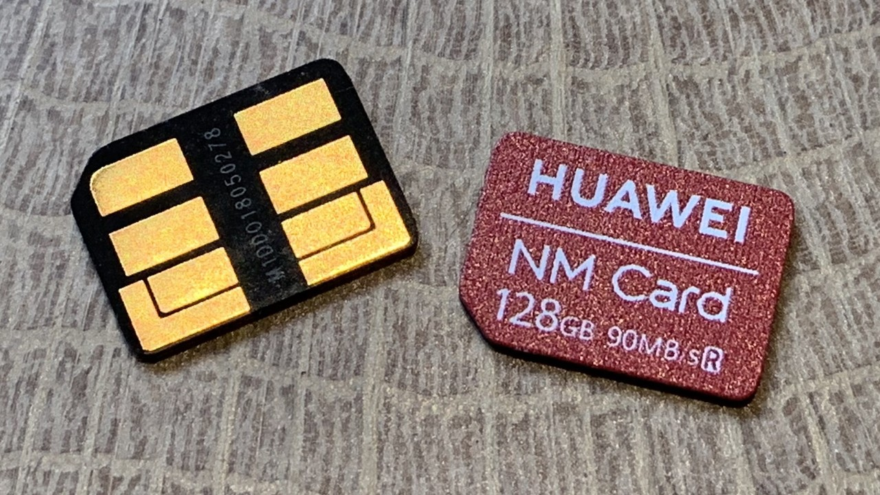 Nano Memory Card: Huaweis NM Card hat es als neuer Standard nicht leicht