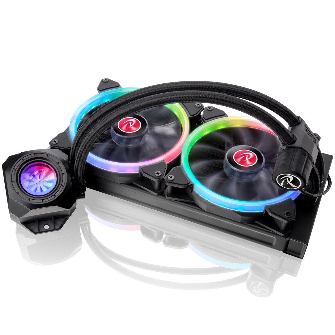 Raijintek Orcus RGB Rainbow, 280mm