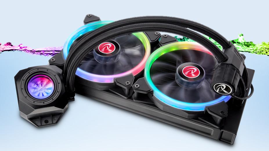 Raijintek Orcus RGB Rainbow: All-in-One-Wasserkühlung mit RGB-Fernbedienung