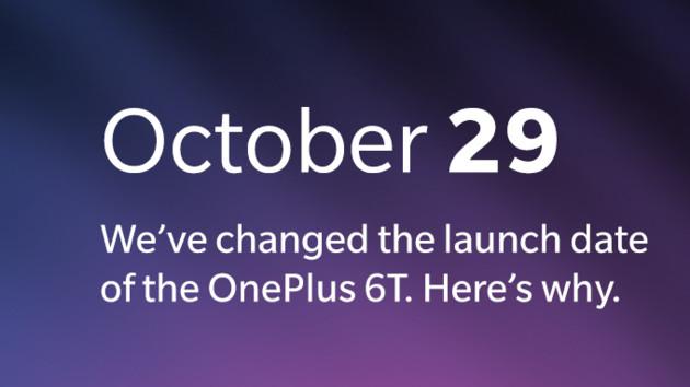 Wegen Apple-Event: OnePlus 6T wird einen Tag früher gezeigt