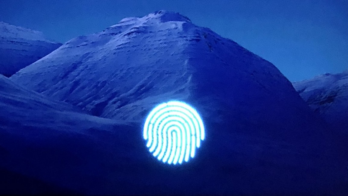 Patent: Vollbild-Fingerabdrucksensor für Samsung-Smartphones