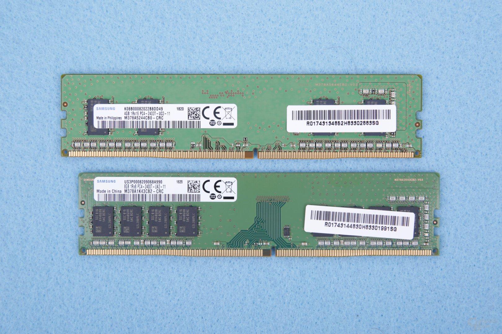 Der verbaute RAM von Samsung
