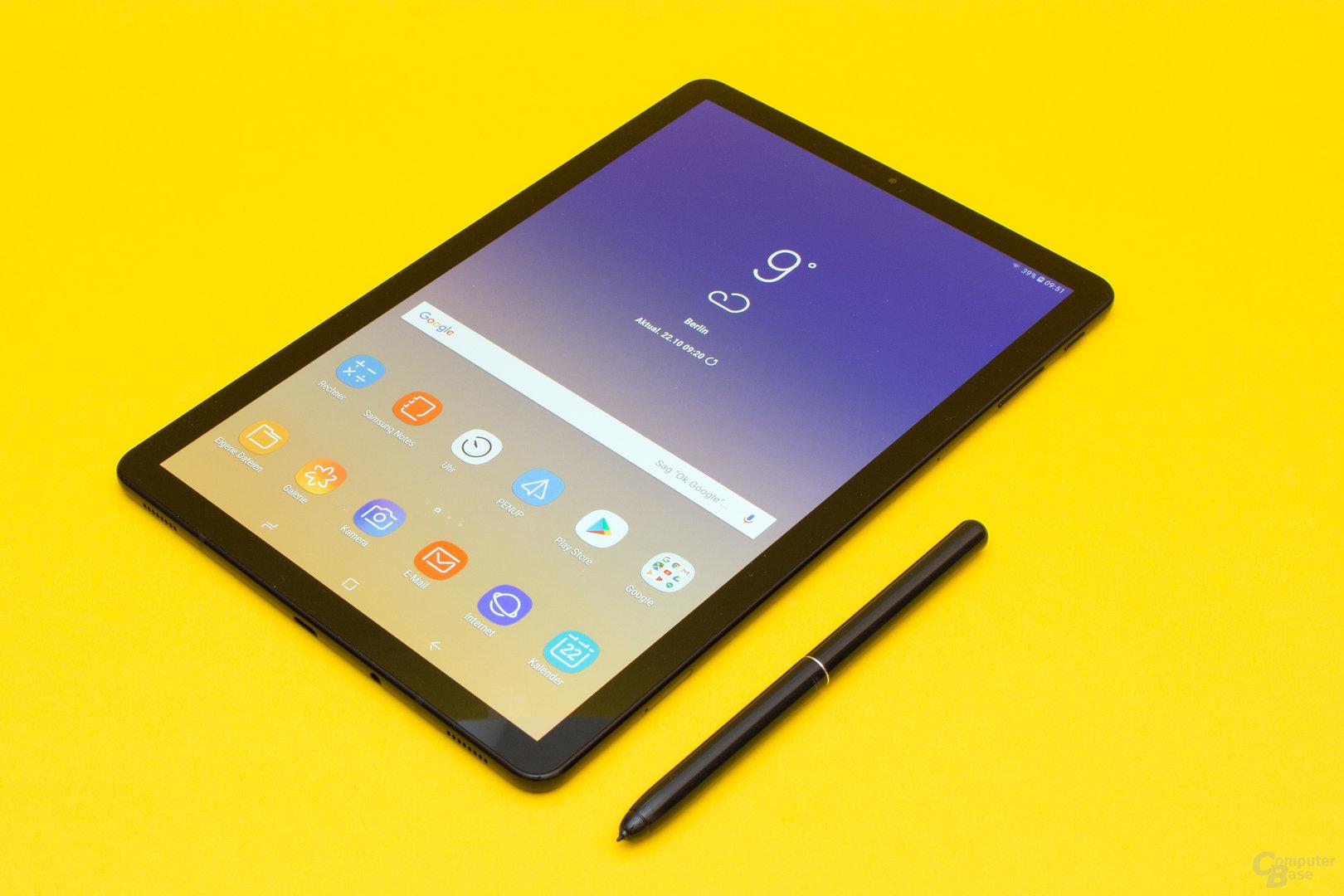 Samsung Galaxy Tab S4 im Test
