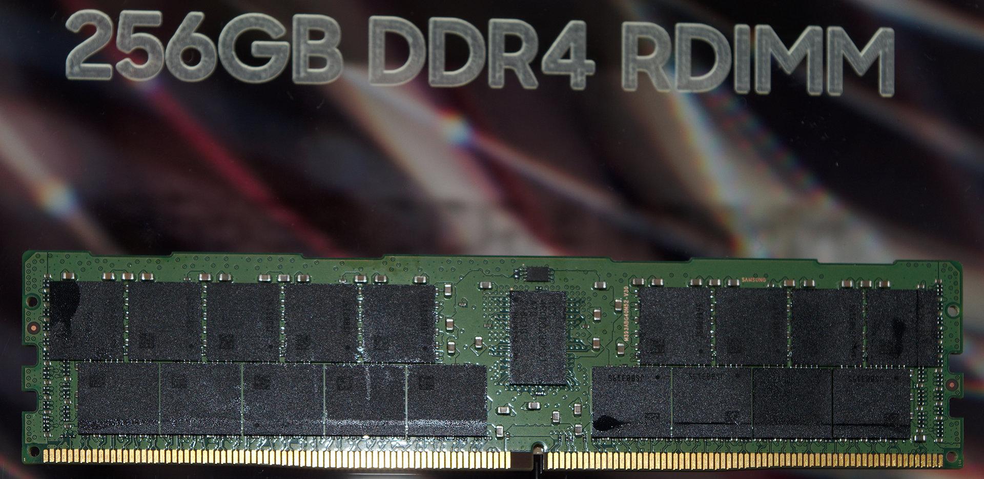 DDR4 RDIMM mit 256 GB von Samsung