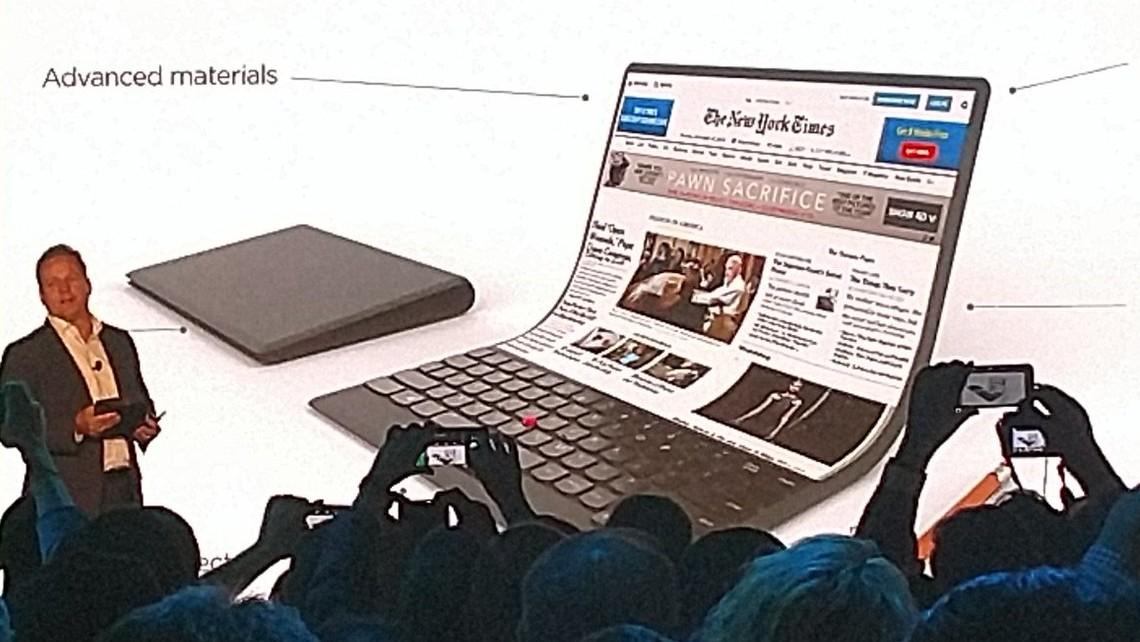 Samsung: Notebook mit faltbarem Display in der Entwicklung