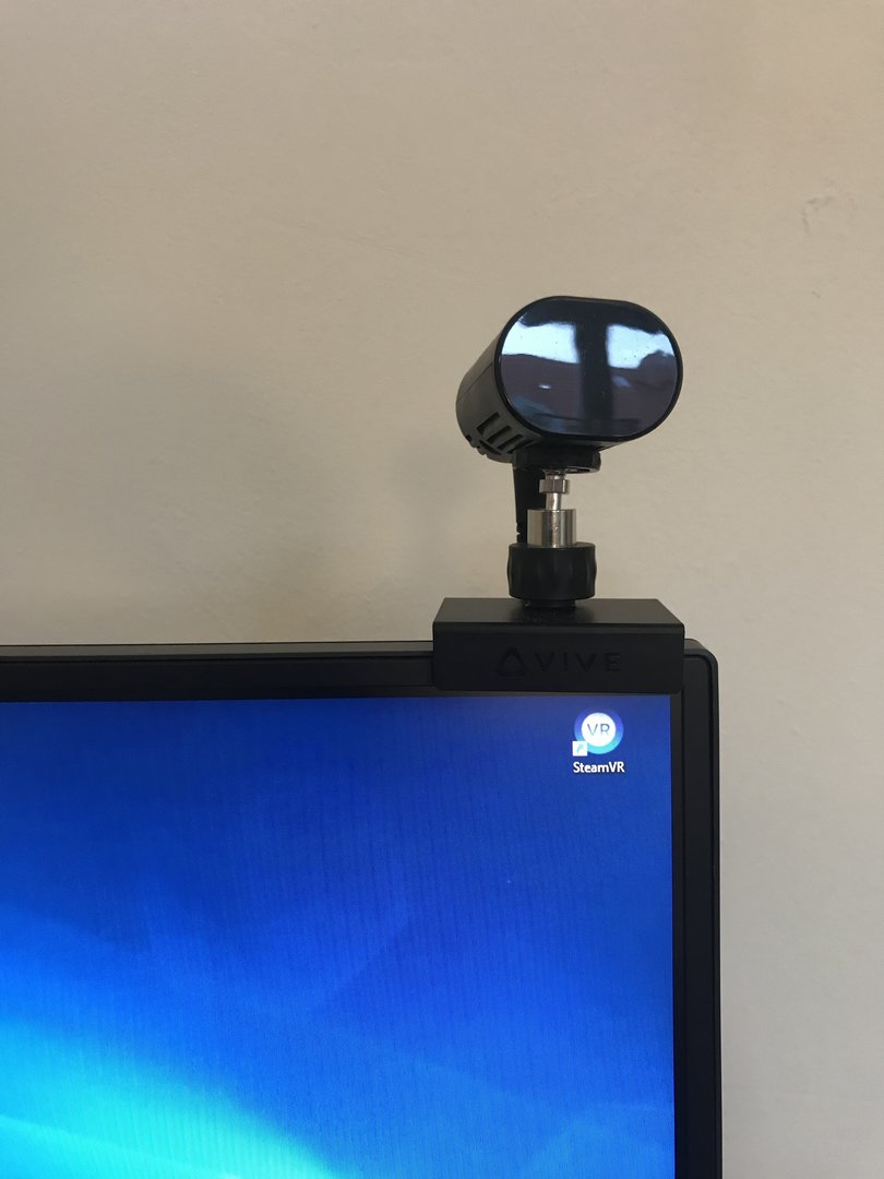 Der Sensor soll ungefähr auf Kopfhöhe angebracht werden