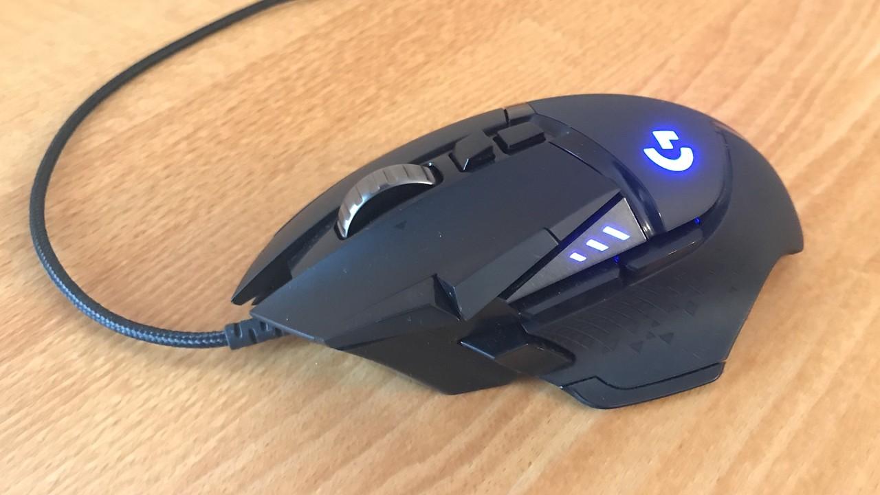 Logitech G502 Hero im Test: Allround-Gaming-Maus mit neuem Sensor